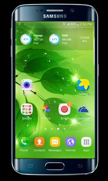 J7 launcher theme apk screenshot
