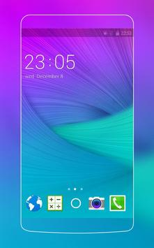 Theme for Samsung Galaxy Note 4 HD poster