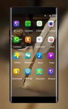 Samsung Launcher stylish Theme for Galaxy Note 8 apk screenshot
