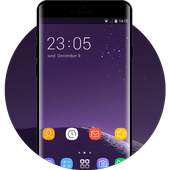 Theme for galaxy note 8 HD Launcher 2018 icon