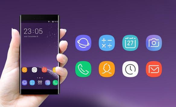 Theme for Samsung galaxy note 8 HD Launcher screenshot 3