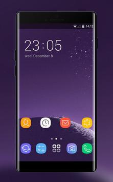 Theme for Samsung galaxy note 8 HD Launcher 2018 poster