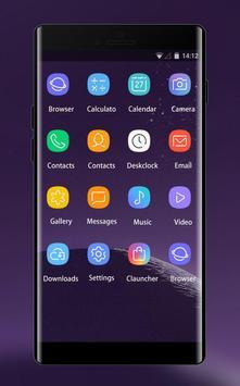 Theme for Samsung galaxy note 8 HD Launcher 2018 screenshot 1
