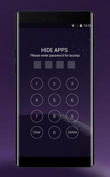 Theme for Samsung galaxy note 8 HD Launcher 2018 screenshot 2