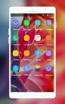 Theme for Samsung Galaxy Star flower wallpaper screenshot 1