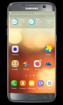 S6 Launcher and S6 edge theme apk screenshot