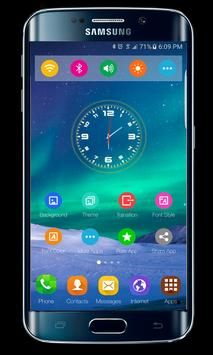 SuperB s6 edge theme apk screenshot