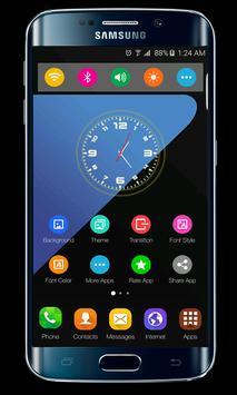 Samsung Galaxy S10 launcher theme screenshot 1