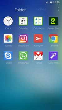 Theme for Samsung Galaxy apk screenshot