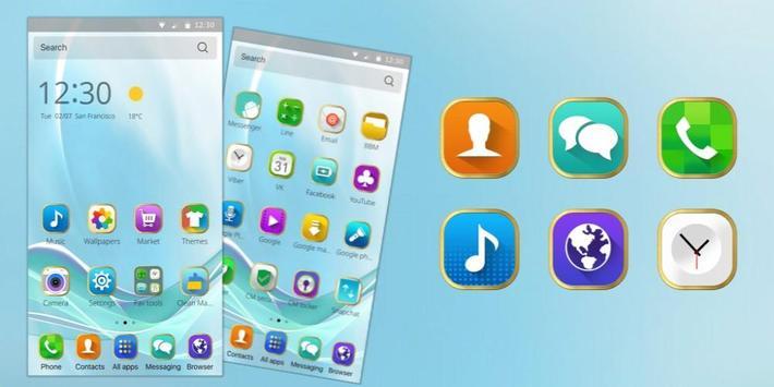 三星Galaxy S8手機主題-安卓智能手机高清桌面动态壁纸 截图 3