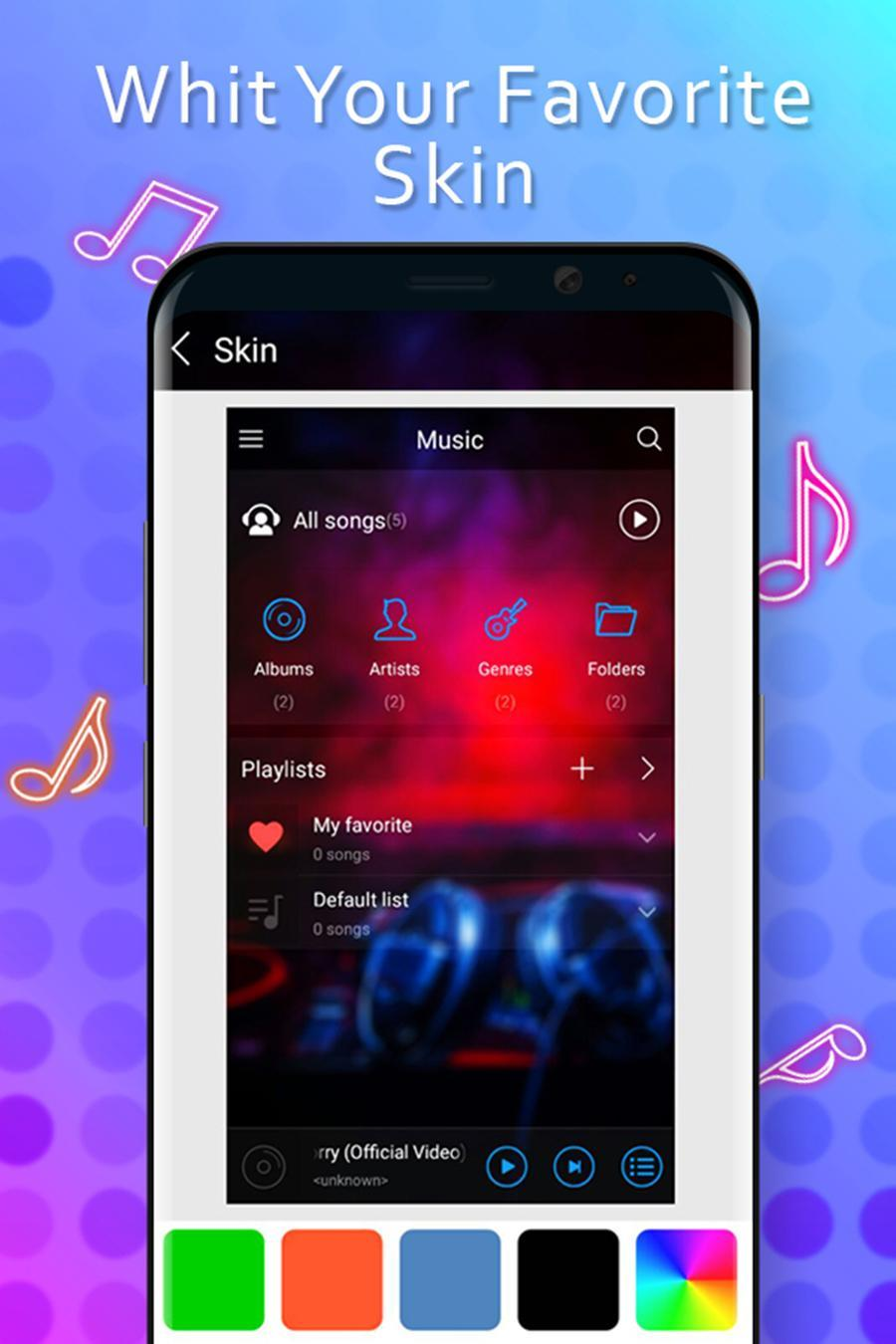 Music Player Style Samsung 2018 for Android - APK Download