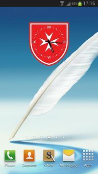 SAMR Analog Clock Widget poster