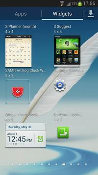 SAMR Analog Clock Widget screenshot 1