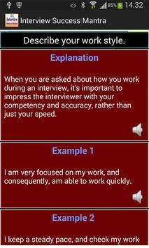 Interview Success Mantra apk screenshot