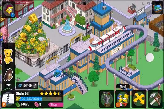 Hint The Simpsons Tapped Out poster