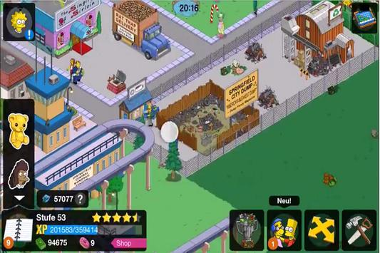 Hint The Simpsons Tapped Out apk screenshot