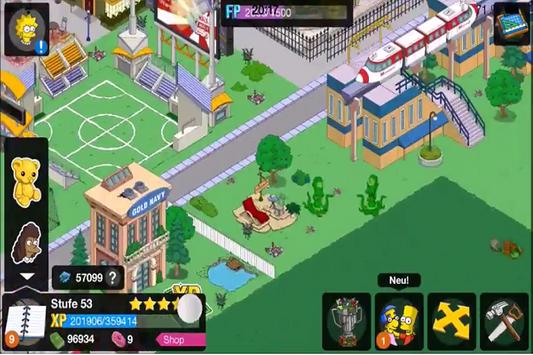Hint The Simpsons Tapped Out screenshot 5