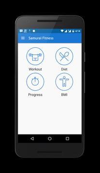 Samurai Fitness apk screenshot