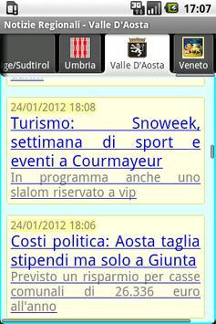 Notizie Regionali apk screenshot