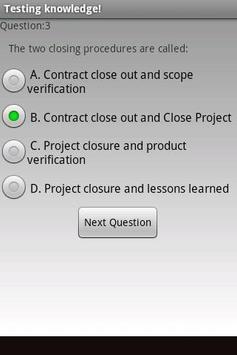 Pmp exam prep free screenshot 1