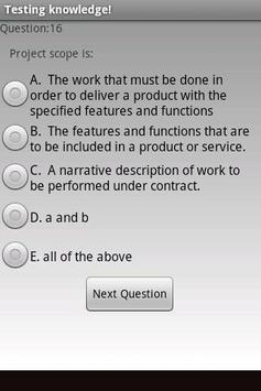 Pmp exam prep free screenshot 2