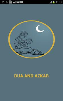 Dua and Azkar poster