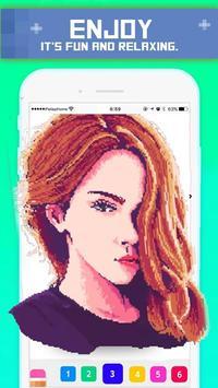 Pix Unicorn | Color by pixel art Drawbox Animals screenshot 5