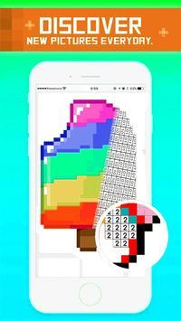 New Pixel ART - Coloring by Pixels Sandbox Book screenshot 1