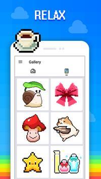 Color by Number - Draw Sandbox Pixel Art screenshot 13