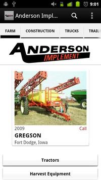 Anderson Implement poster
