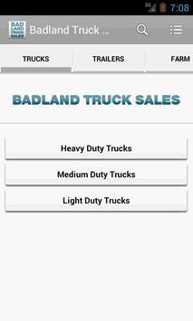 Badland Truck Sales poster