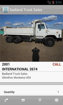 Badland Truck Sales apk screenshot