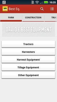 David E Best Equipment poster