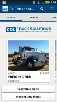 CDL Truck Solutions poster