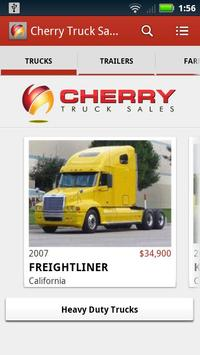 Cherry Truck Sales poster