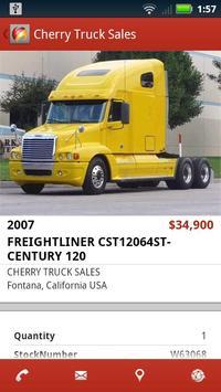 Cherry Truck Sales apk screenshot