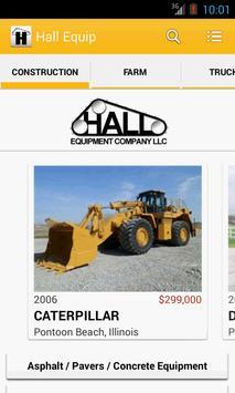 Hall Equipment Company LLC poster