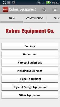 Kuhns Equipment poster