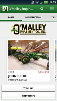 O'Malley Implement poster