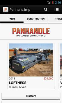 Panhandle Implement poster