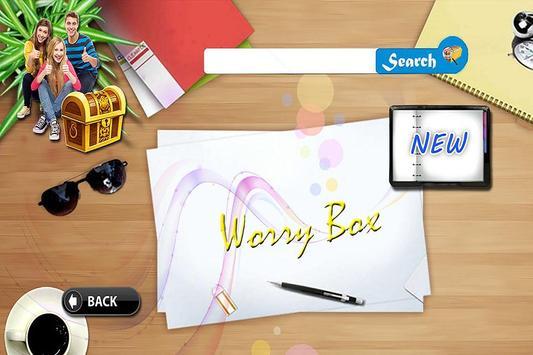 WorryBox screenshot 2