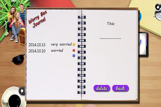 WorryBox screenshot 4