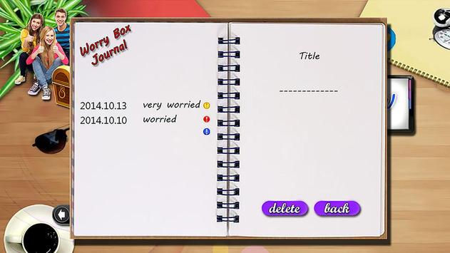 WorryBox screenshot 8