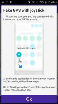 Fake GPS with Joystick apk screenshot
