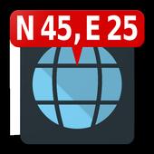 Map Coordinates icon