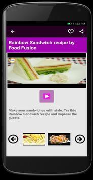 Sandwish Recipes screenshot 1