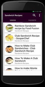Sandwish Recipes screenshot 4