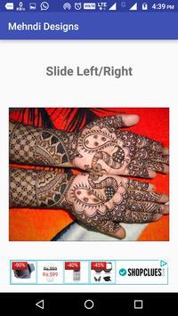 Designer Mehndi (Offline) screenshot 2