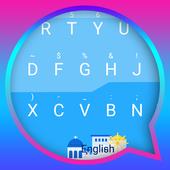 Santorini Theme&Emoji Keyboard icon