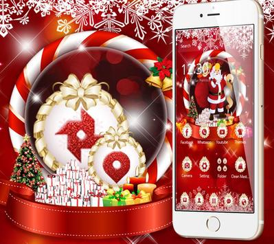 New Year Snow Christmas Theme poster